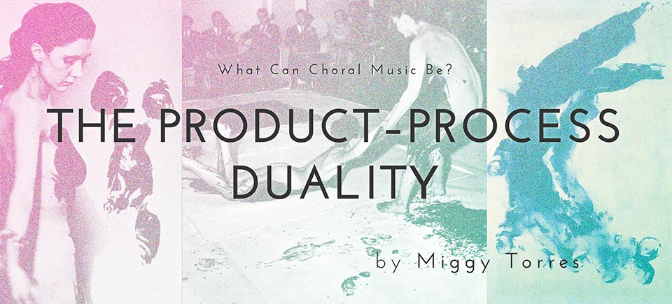 The Product-Process Duality